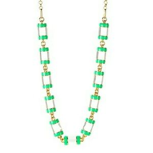 "Kate Spade New York ""Brighton Rock"" Green Necklace"
